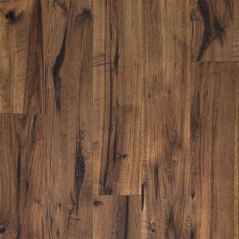 pergo flooring kamala brown pergo xp creekbed hickory 8 mm thick x 5 7 32 in wide x 47 1 4 in length laminate flooring 20