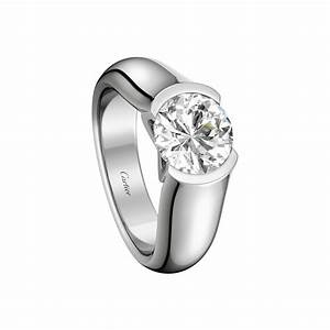 c de cartier solitaire engagement rings platinum With cartier wedding rings for women