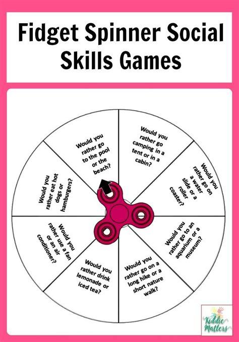 teaching social emotional skills to preschoolers fidget spinner social skills therapy tools 321