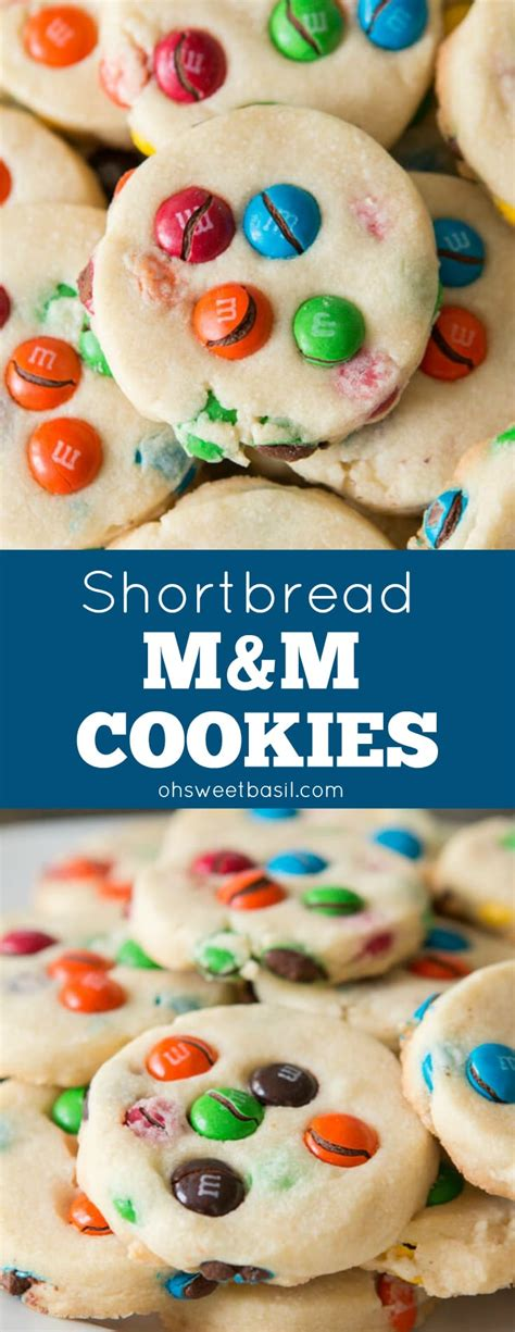 shortbread mm cookies  sweet basil