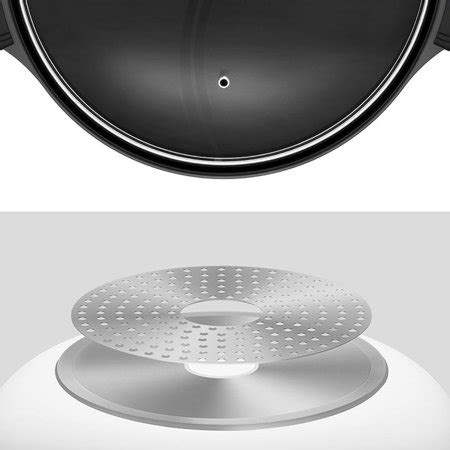 pot soup cookware divided induction 4l nonstick cooker compatible twin cooking gas kitchen youpin