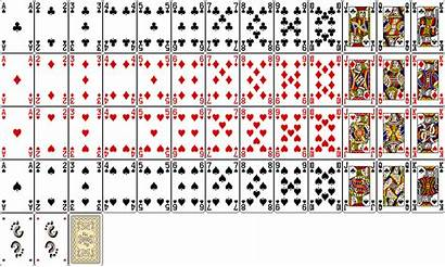 Deck Card Playing Standard 52 Cards Template