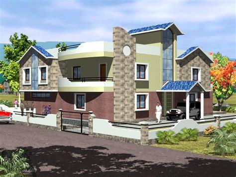 Top House Front Elevation Models