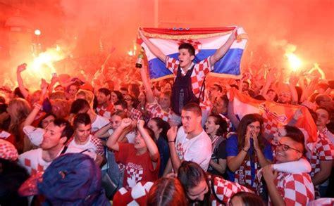 Jubilant Croatia England Despair How Semifinal