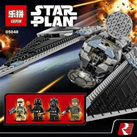 lego lepin  star wars  tie striker
