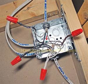 Metal Square Junction Box With Cover And Mounting Bracket
