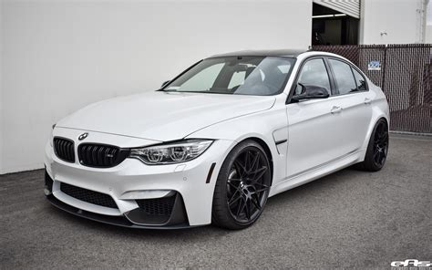 Bmw Mineral White by A Mineral White Bmw M3 Zcp Gets M Performance Parts Installed