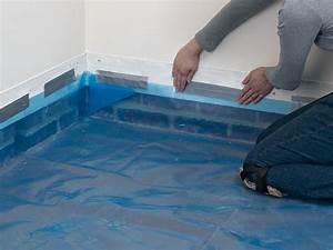 Isolant Sous Dalle Béton : couler un plancher b ton isol isolation dalle beton ~ Dailycaller-alerts.com Idées de Décoration