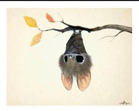 Sleeping Bat Silhouette
