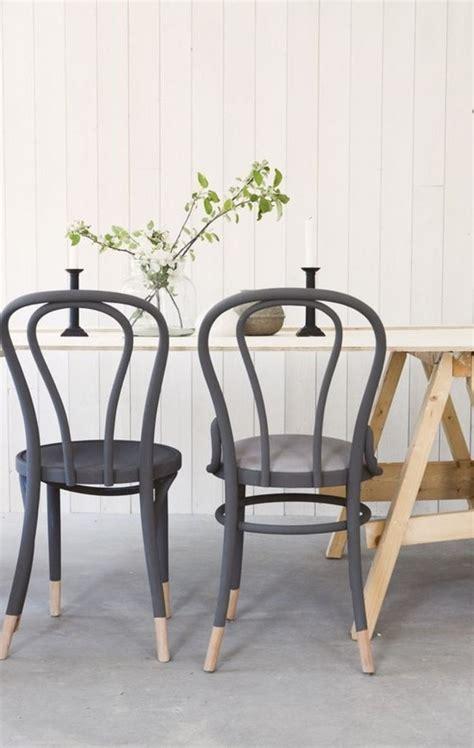 stã hle retro design schwarzer stuhl kombination komfort und stil archzine net