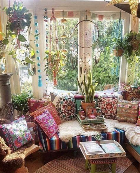 hippie lounge bohemian living room decor