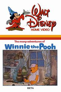 The Many Adventures Of Winnie The Pooh Video Disney Wiki