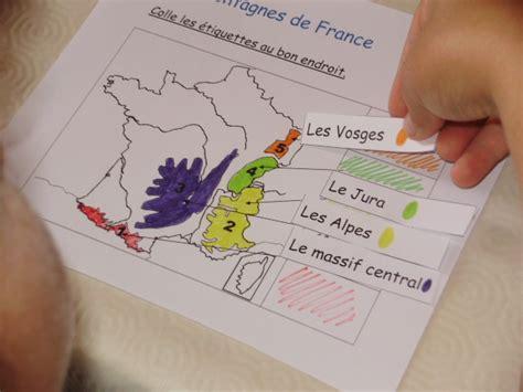 Carte De Montagnes Ce2 by G 233 Ographie Le Petit Roi Enfant Autiste