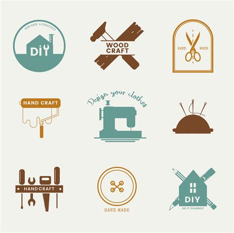 skilled service business logo design