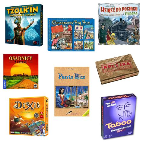 moje ulubione gry planszowe pomysły na świąteczne