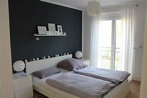 Schlafzimmer Ideen Wand : schlafzimmer einrichten im skandinavischen stil ~ Frokenaadalensverden.com Haus und Dekorationen