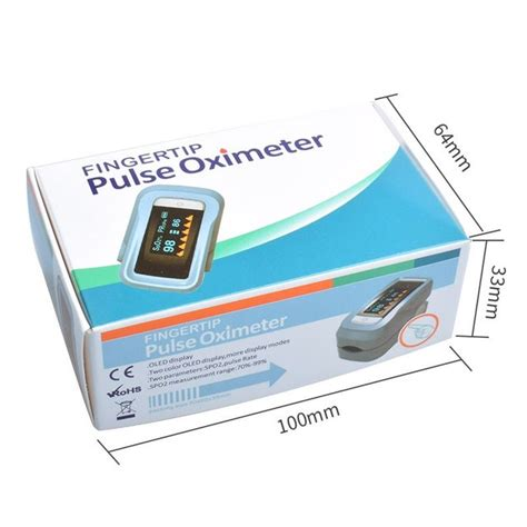 Pulse Oximeter Fingertip Blood Oxygen Saturation Monitor
