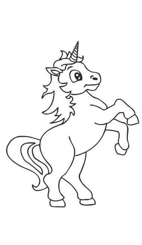 disegni kawaii unicorno facili unicorno disegni da colorare disegni da colorare