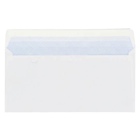 bruneau bureau mobilier enveloppe 110 x 220 mm budget 80 g sans fenêtre blanche