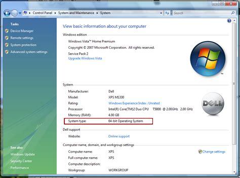 How can I tell if I'm running 32-bit Windows or 64-bit