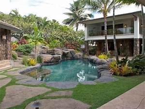 Amenagement Autour Piscine Photos : design exterieur am nagement jardin paysager tropical ~ Premium-room.com Idées de Décoration