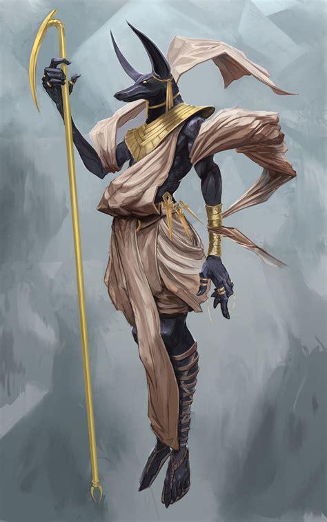 Artstation Anubis Tuncer Eren