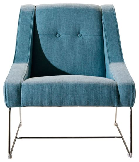 lean side chair blue contemporary dining chairs by