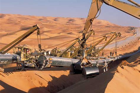 salah gas pipeline central algeria bechtel
