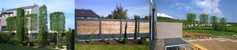 Sichtschutz Garten Zulässige Höhe by Sichtschutzkonzepte