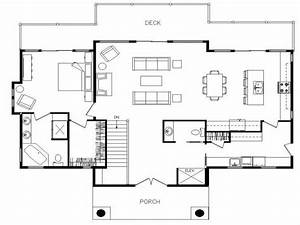 Ranch Home Plans With Open Floor Plan - Cottage house plans
