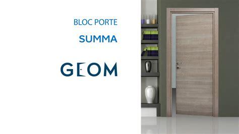 Bloc Porte Fin De Chantier Summa Geom (618291) Castorama
