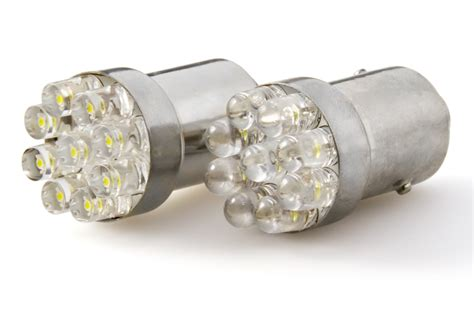 67 led bulb 9 led forward firing cluster ba15s