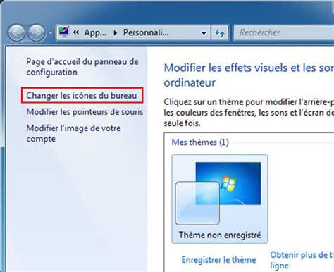 icone bureau windows 7 activer désactiver icônes de bureau windows 7
