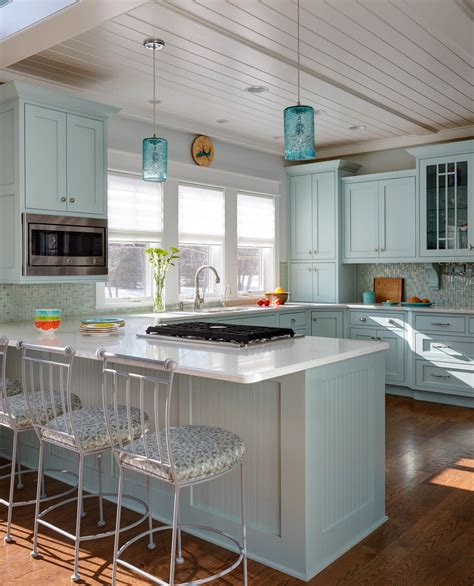 view  custom color painted kitchen showplace cabinetry