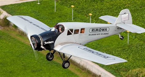 Rimowa Has Brought the Junkers F13 Aircraft Back from the ...
