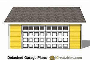 24x24 garage plans door under eve With 24x24 garage material list