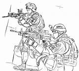 Coloring Army Pages Printable sketch template
