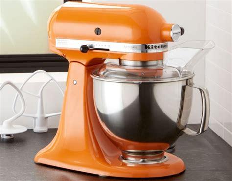 kitchenaid  quart stand mixer  tangerine