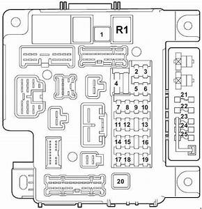 Mitsubishi Lancer  2007 - 2017   U2013 Fuse Box Diagram