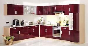 Küche Rot Hochglanz : m bel g k che varel hochglanz bordeaux rot ~ Yasmunasinghe.com Haus und Dekorationen