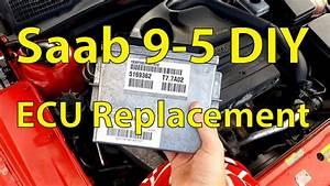 Saab 9-5 Diy  Ecu Replacement - Trionic Seven