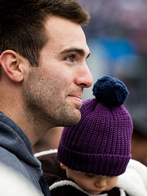 Joe Flacco and other notable dads on fatherhood