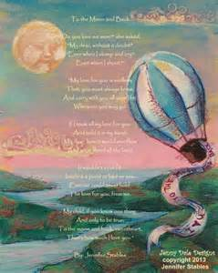 I Love to the Moon and Back Poem