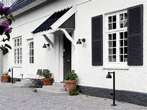 Außenbeleuchtung Haus Led : louis poulsen toldbod beleuchtung vor dem haus ~ Lizthompson.info Haus und Dekorationen