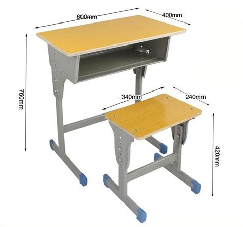 writing table and chair adjustable elementary school