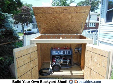 Storage Shed For Portable Generator by Pictures Of Generator Sheds Photos Of Generator Sheds