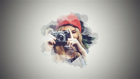 photoshop tutorial brush effect portrait brush photo