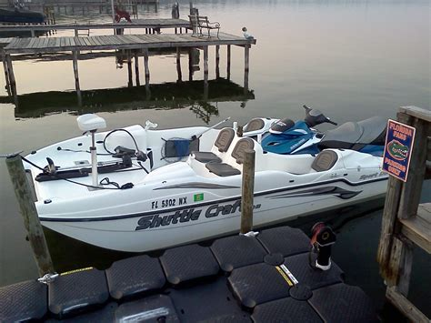 Jet Ski Sport Deck Boat by Sea Doo Shuttle Craft 215 Gtx Sport Deck Boat For Sale
