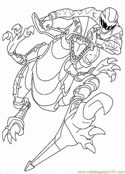 Power Rangers Coloring Printable Pages Cartoons