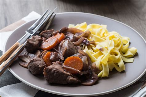 recettes cuisine libanaise boeuf bourguignon express à l 39 autocuiseur cuisine addict